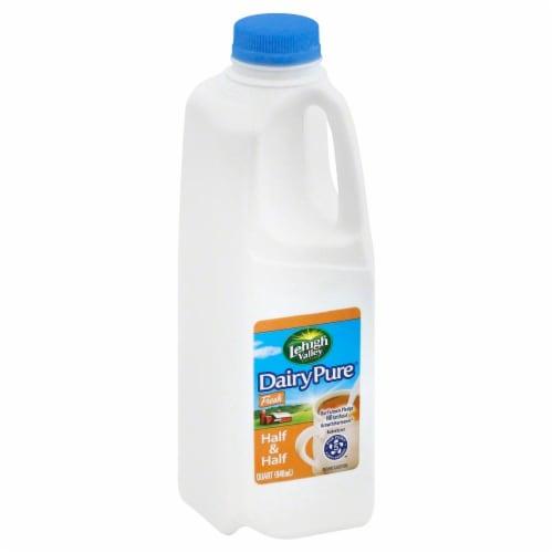 LeHigh Valley Dairy Pure Half & Half Perspective: front