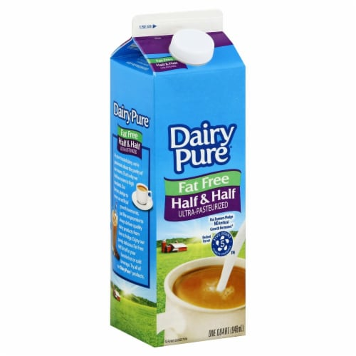 Dairy Pure Fat Free Half & Half Perspective: front