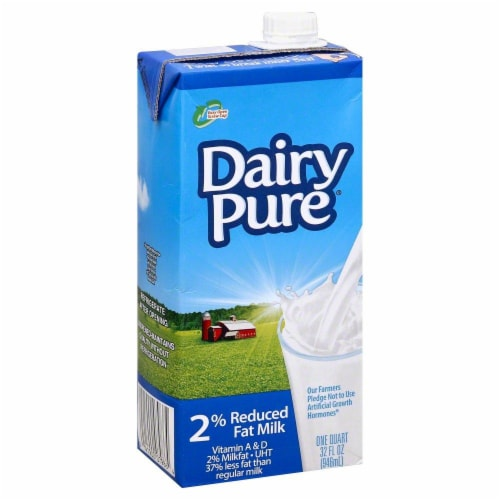 Dairy Pure 2% Reduced Fat Milk Perspective: front