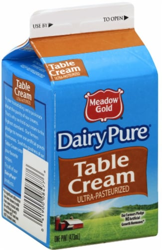 Dairy Pure Table Cream Perspective: front