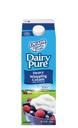 Dairy Pure Old Fashioned Whipping Cream Perspective: front