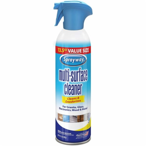 Sprayway  Fresh Scent Multi-Surface Cleaner  Spray  13.5 oz. - Case Of: 6; Perspective: front