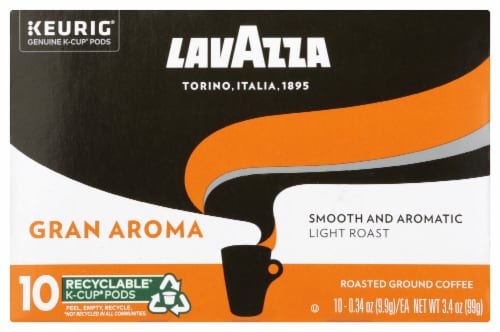 LavAzza Gran Aroma KCups Perspective: front