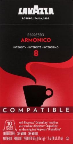 LavAzza Espresso Armonico Coffee Capsules Perspective: front