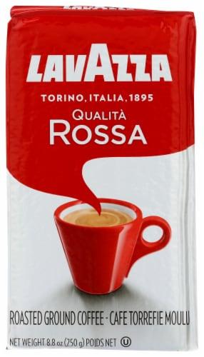 LavAzza Qualita Rossa Ground Coffee Perspective: front