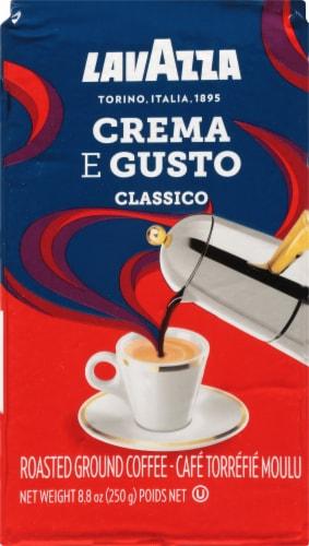 LavAzza Crema e Gusto Classico Roasted Ground Coffee Perspective: front