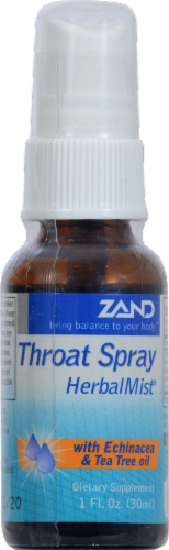 Zand Herbal Mist Throat Spray Perspective: front