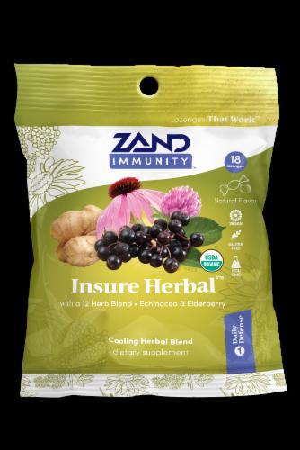 Zand Insure HerbaLozenge Perspective: front