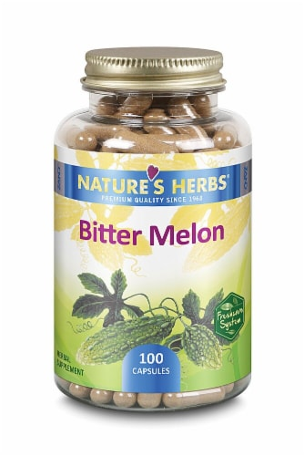 Nature's Herbs Bitter Melon Perspective: front