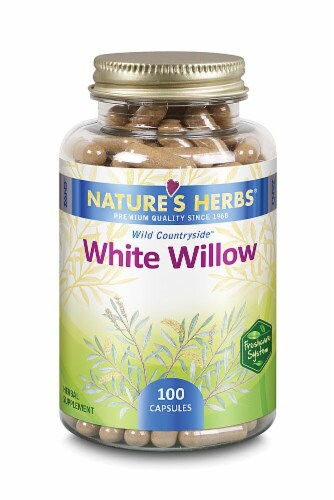 Nature's Herbs White Willow Capsules Perspective: front