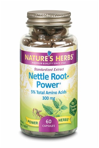 Nature's Herbs  Nettle Root-Power™ Perspective: front