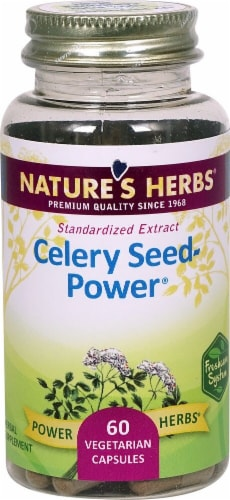Nature's Herbs Celery Seed-Power® Capsules Perspective: front