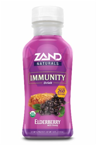 Zand Elderberry Immunity Drink Perspective: front