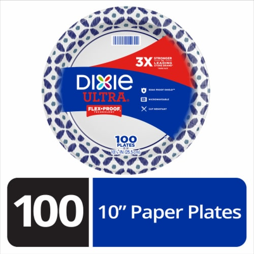 Dixie Ultra 10 Inch Paper Plates Perspective: front