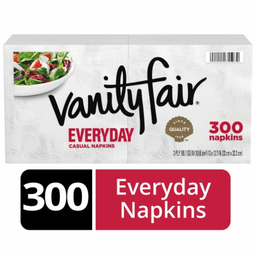 Vanity Fair Everyday Casual Napkins Perspective: front