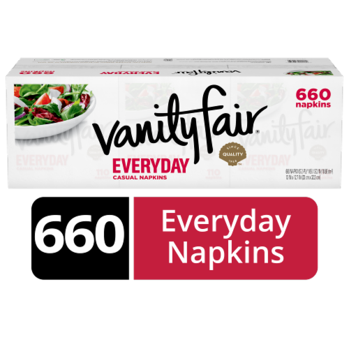 Vanity Fair  Everyday Paper Napkins Perspective: front