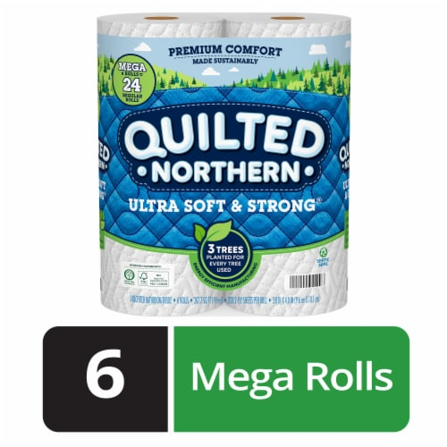 Quilted Northern Ultra Soft & Strong Toilet Paper Perspective: front