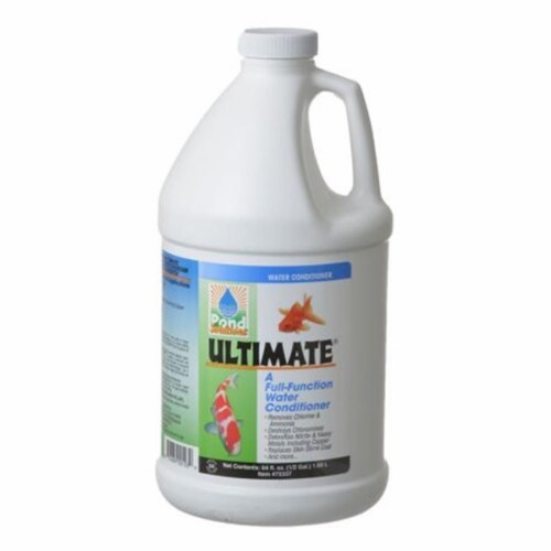 Hikari 72338 Pond Solutions Ultimate Water Conditioner for Ponds Perspective: front