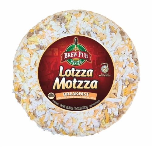 Brew Pub Pizza Lotzza Motzza Breakfast Pizza Perspective: front
