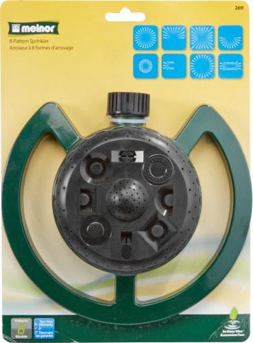 Melnor 8-Pattern Sprinkler Perspective: front