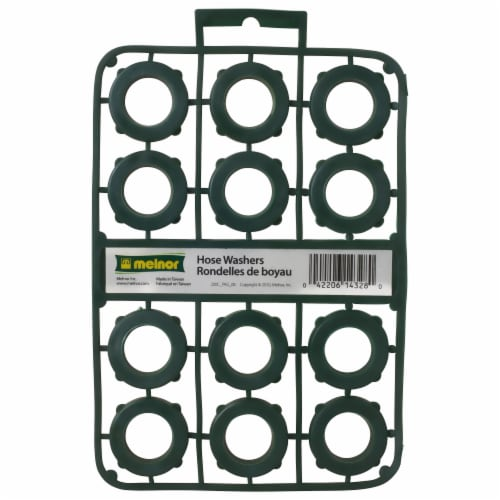Melnor Hose Washers - Green Perspective: front
