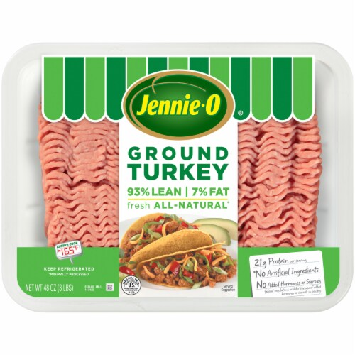 Jennie-O All-Natural Lean Ground Turkey Perspective: front
