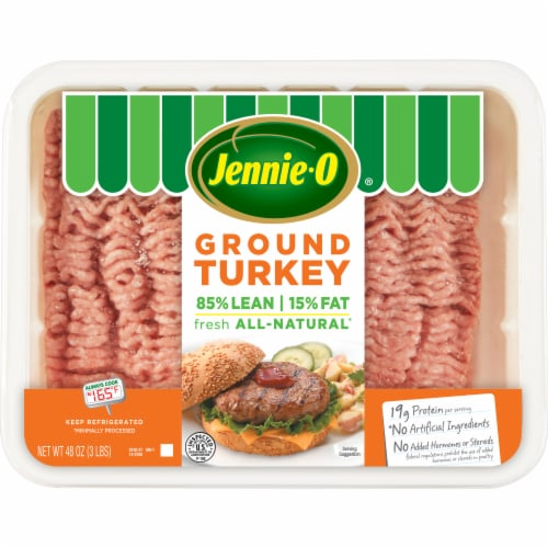 Jennie-O 85% Lean 15% Fat Ground Turkey Perspective: front