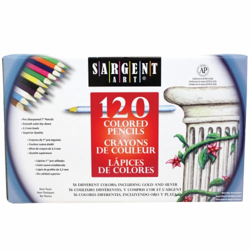 Sargent Art® Colored Pencils Perspective: front