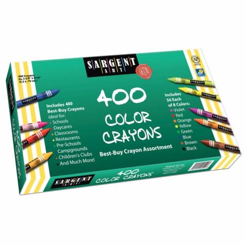 Sargent Art Best-Buy Crayon Assortment Perspective: front