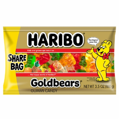 HARIBO Gummies Gold-Bears Perspective: front