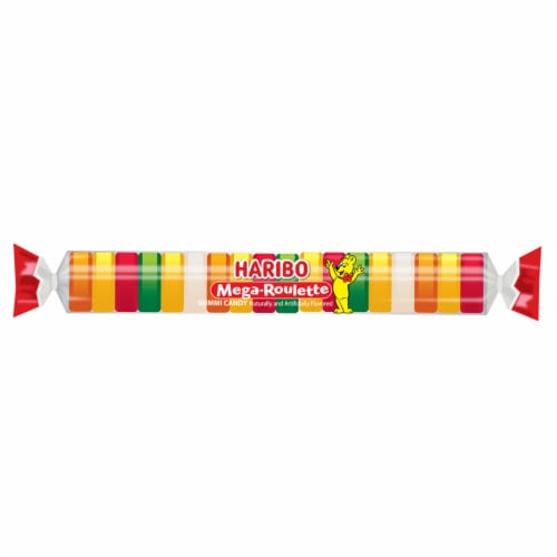 Haribo Mega Rouette Candy Perspective: front
