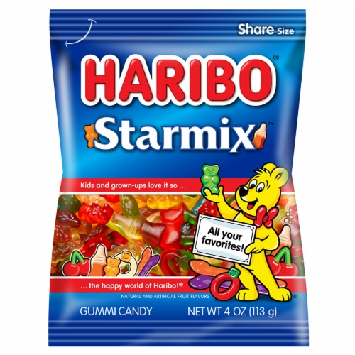 Haribo Starmix Gummi Candy Perspective: front