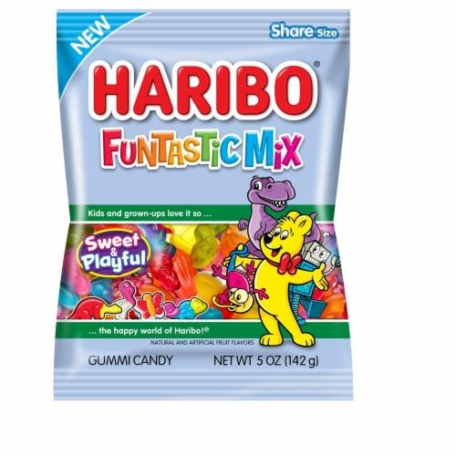 Haribo Funtastic Mix Gummi Candy Perspective: front