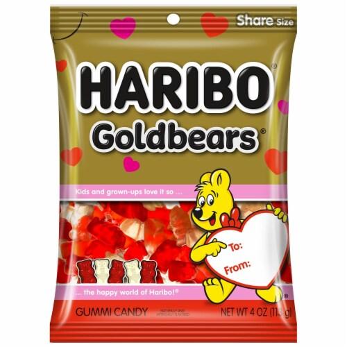 Haribo Goldbears Valentine's Gummi Candy Perspective: front