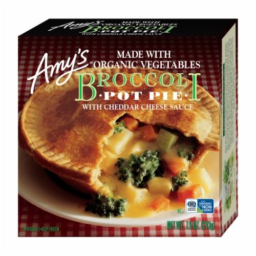 Amy's Broccoli Pot Pie Perspective: front