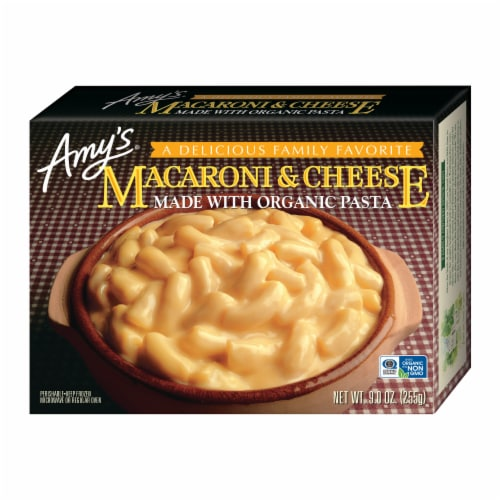 Amy's Macaroni & Cheese Frozen Meal Perspective: front