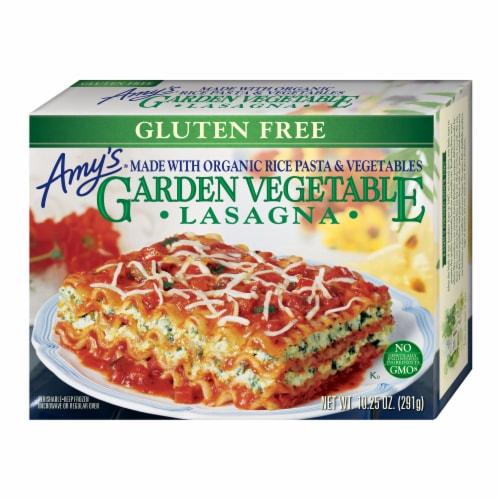 Amy's Gluten Free Garden Vegetable Lasagna Perspective: front