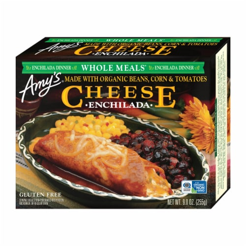 Amy's Cheese Enchilada Frozen Meal Perspective: front