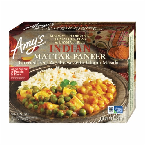 Amy's Indian Mattar Paneer Perspective: front