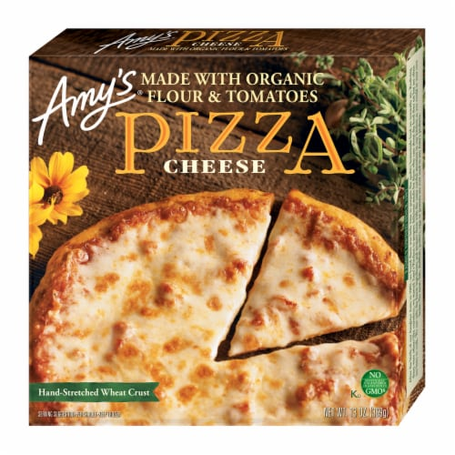 Amy's Cheese Pizza Perspective: front