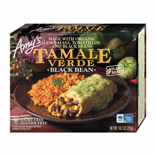 Amy's Black Bean Tamale Verde Perspective: front