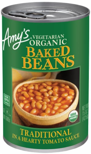 Amy's Organic Vegetarian Traditional Baked Beans Perspective: front