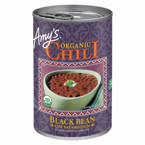 Amy's Organic Black Bean Chili Perspective: front