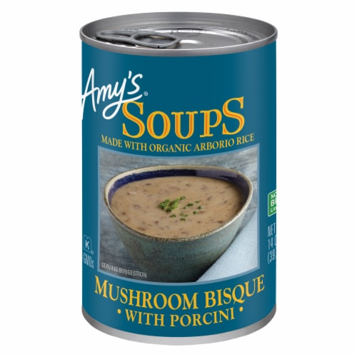 Amy's Mushroom Bisque With Porcini Perspective: front