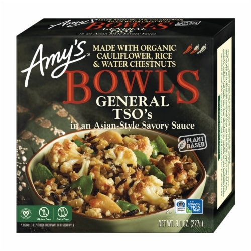 Amy's General Tso's Bowls Perspective: front