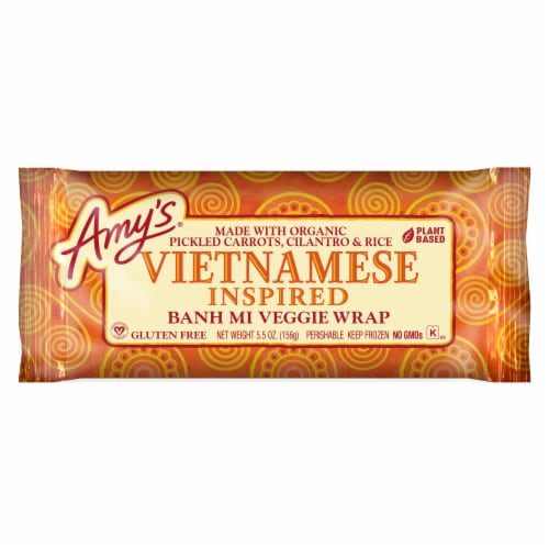 Amy's Vietnamese Banh Mi Wrap Perspective: front