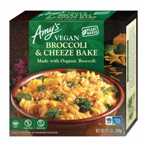 Amy's Vegan Broccoli Cheeze Bake Bowl Perspective: front