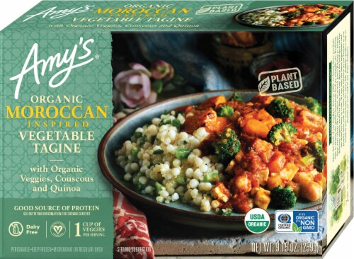 Amy's Organic Moroccan Inspired Vegetable Tagine Perspective: front