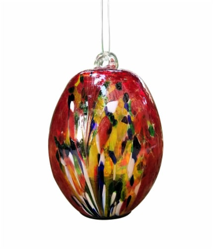 Echo Valley Small Oblong Hanging Spirit Orb Perspective: front