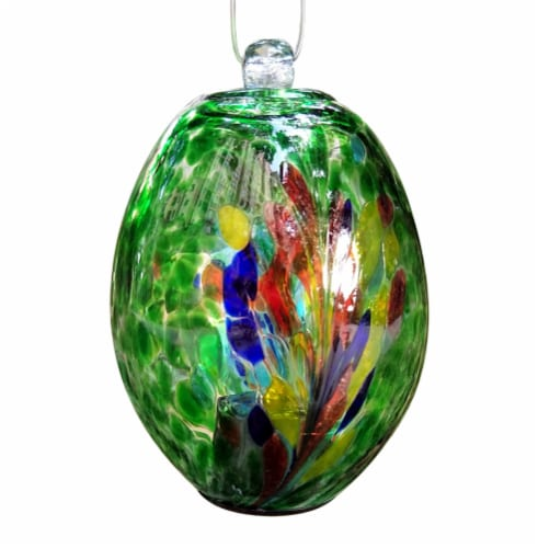 Echo Valley Large Oblong Hanging Spirit Orb Perspective: front